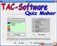 ساخت امتحانات آنلاین TAC-Soft Multiple Choice Quiz Maker v12.0.0