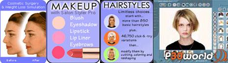 با Salon Styler Pro 5.2.1 آرایشگر خود باشید