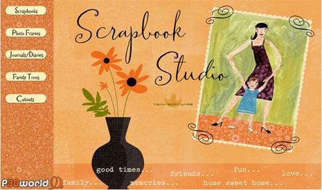 ثبت خاطرات و وقایع روزانه به صورت چندرسانه ای توسط Hallmark Scrapbook Studio 3.0 Deluxe