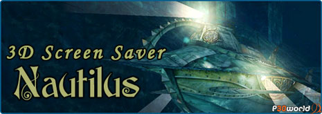 Nautilus 3D Screensaver 1.2 Build 7 و Shark Water World 3D Screensaver 1.5.3.3 دو محافظ صفحه نمایش زیبا و سه بعدی