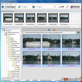 ساخت تصاویر پانوراما توسط STOIK PanoramaMaker v2.1.1.2632