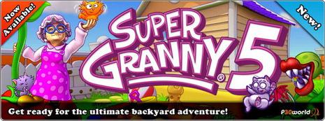Super Granny 5 v1.0 – بازی کوچک و سرگرم کننده ماجراهای مادربزرگ