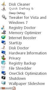 Systerac Tools for Windows 7 2010.v3.00 مجموعه ای از 16 ابزار کاربردی حرفه ای برای نگهداری ویندوز 7