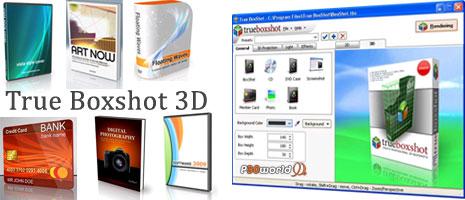 True BoxShot 1.9.0.295 ابزاری قدرتمند برای طراحی جعبه های سه بعدی