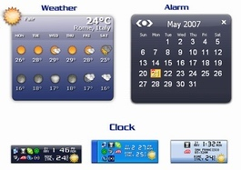 Weather Alarm Clock v3.7  یک ساعت کامل با قابلیت نمایش آب و هوای شهرهای جهان