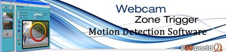 ایجاد سیستم دوربین مدار بسته امنیتی تنها با وب کم یا دوربین دیجیتال خانگی توسط Webcam Zone Trigger Pro v2.37