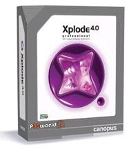 Canopus Xplode Pro v4.04 ابزاری قدرتمند برای افکت گذاری های ویدیویی