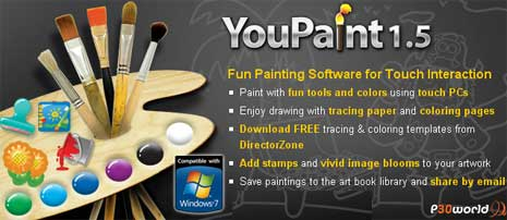 CyberLink YouPaint v1.5.0.2128  نرم افزاری قدرتمند با ویژگی های منحصر به فرد در زمینه طراحی و نقاشی دیجیتالی