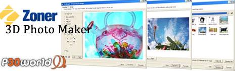 ساخت تصاویر سه بعدی توسط Zoner 3D Photo Maker 1.0