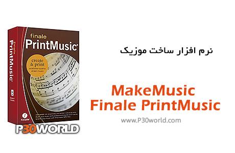 دانلود MakeMusic Finale PrintMusic 2014.820 – نرم افزار نت نویسی با علائم