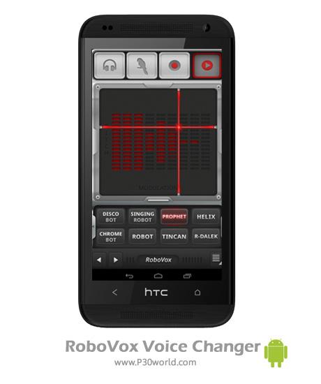 دانلود RoboVox Voice Changer v1.8.0 build 180 – نرم افزار تغییر صدا اندروید