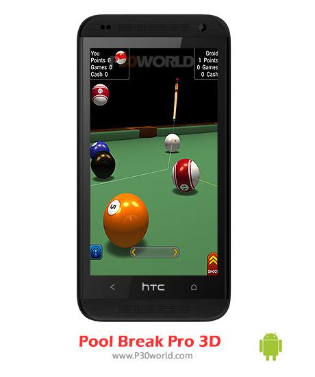 دانلود Pool Break Pro 3D Pool Snooker v2.3.6 – دانلود بازی بیلیارد اندروید