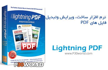 دانلود Avanquest Lightning PDF Professional 7.0.1800 – نرم افزار ساخت ، ویرایش ، تبدیل فایل های PDF