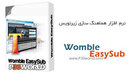 Womble EasySub 2.0.0.108 – نرم افزار ساخت و ویرایش زیرنویس فیلم های DVD