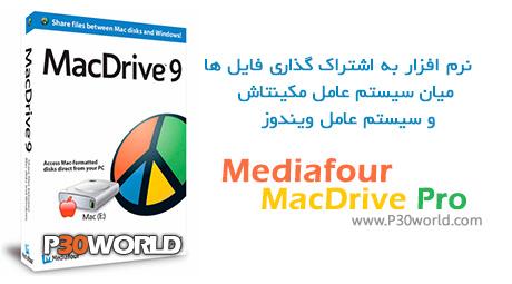 دانلود Mediafour MacDrive Pro 9.2 – نرم افزار به اشتراک گذاری فایل  میان سیستم عامل مکینتاش و ویندوز