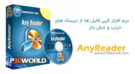 دانلود AnyReader 3.13 - نرم افزار کپی فایل ها از دیسک های خراب و خش دار