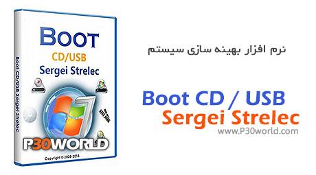 دانلود Boot CD / USB Sergei Strelec 2013 v.3.7 - دیسک بوت پارتیشن بندی و بازیابی اطلاعات
