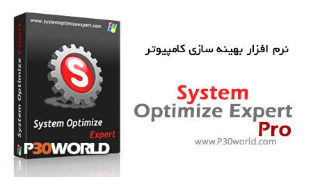 دانلود System Optimize Expert Pro 3.3.7 – نرم افزار بهینه سازی کامپیوتر