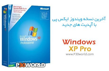 دانلود Windows XP Professional SP3 (x86) Jan 2015 – ویندوز اکس پی با آپدیت ژانویه 2015