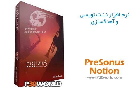 دانلود PreSonus Notion