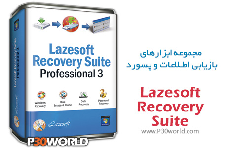 دانلود Lazesoft Recovery Suite 4.3.1 Unlimited Edition