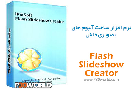 دانلود iPixSoft Flash Slideshow Creator