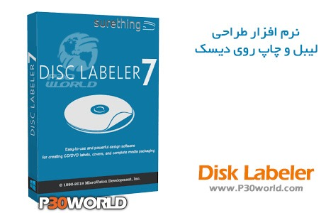 دانلود SureThing Disk Labeler Deluxe Gold