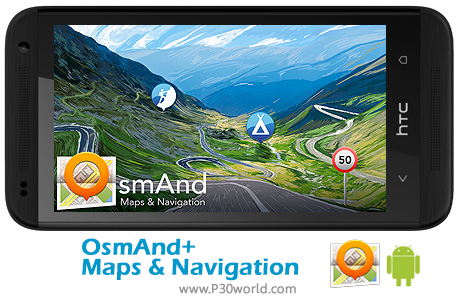 دانلود OsmAnd+ Maps Navigation