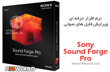 دانلود MAGIX SOUND FORGE Pro