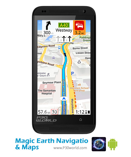دانلودMagic-Earth-Navigation-Maps