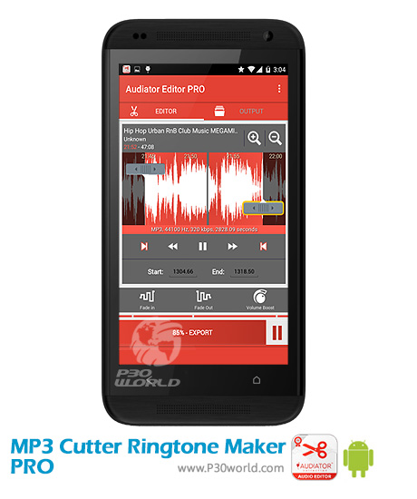 دانلود MP3 Cutter Ringtone Maker PRO