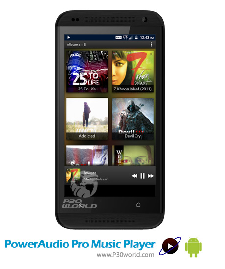 دانلود PowerAudio Pro Music Player