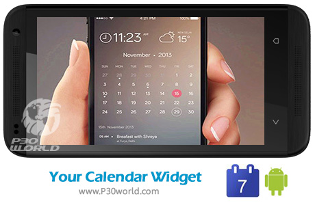 دانلود Your Calendar Widget Pro