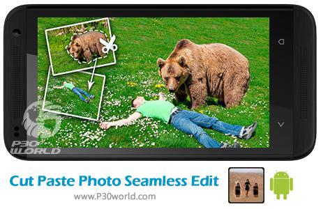 دانلود Cut Paste Photo Seamless Edit Pro