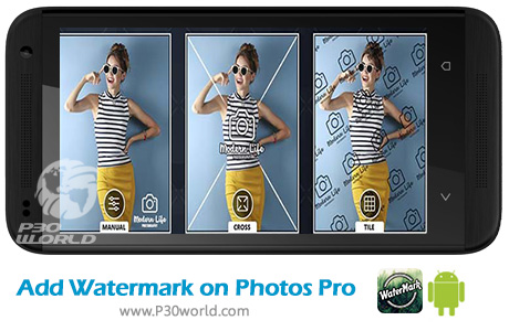 دانلود Add Watermark on Photos Pro v1.1