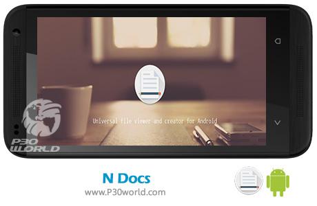 دانلود N Docs – View, create, and edit Document 3.0.6