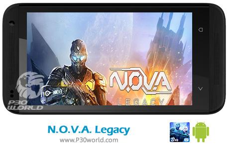 دانلود N.O.V.A. Legacy v5.2.4 - بازی میراث نوا برای اندروید