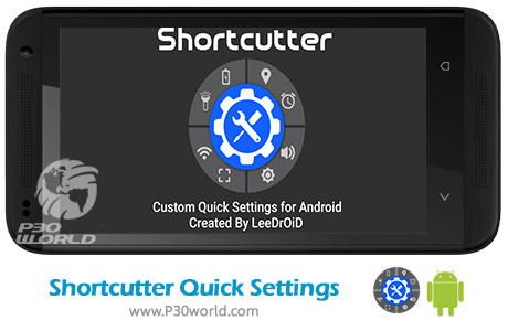 دانلود Shortcutter Quick Settings Premium 5.6.9