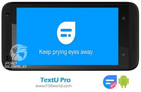 دانلود TextU Pro – Private SMS Messenger 2.20.0