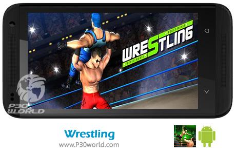 دانلود Wrestling World Mania Wrestlemania Revolution v1.5