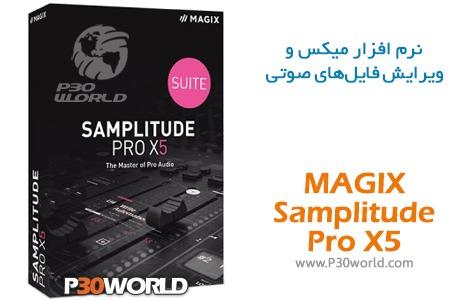 دانلود MAGIX Samplitude Pro
