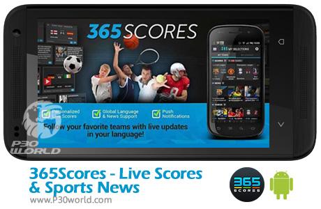 دانلود 365Scores - Live Scores & Sports News