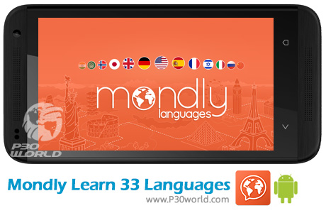 دانلود Mondly Learn 33 Languages