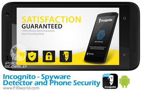 دانلود Incognito - Spyware Detector and Phone Security