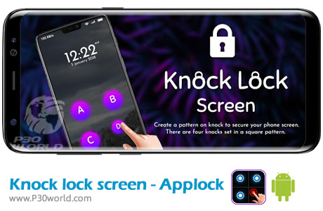 دانلود Knock lock screen - Applock