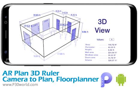 دانلود AR Plan 3D Ruler
